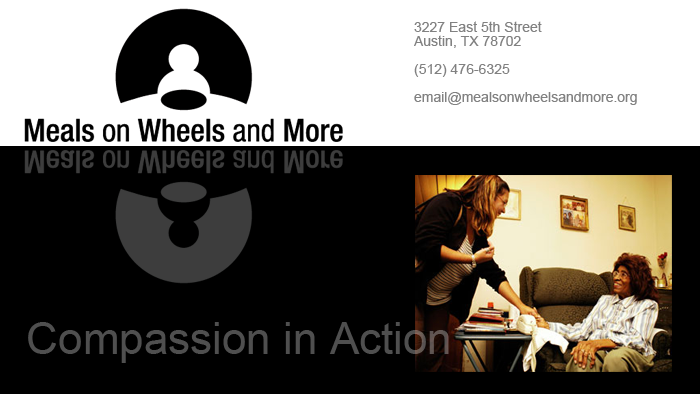 Meals On Wheels and More poster image
