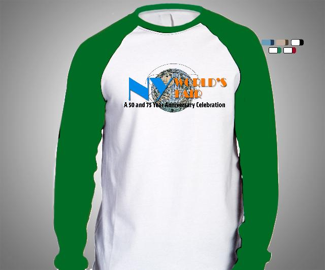 Men's Baseball Tee- Green