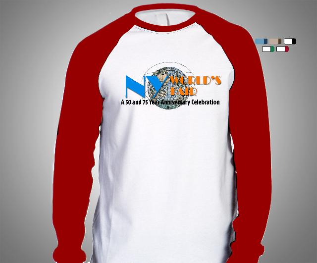Men's Baseball Tee- Red