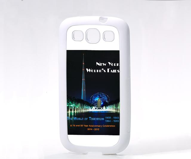 White Galaxy SIII Case