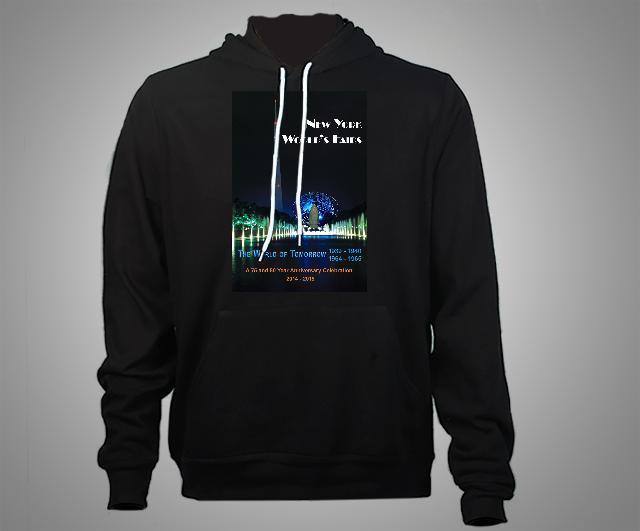 Canvas Hooded Sweatshirt - Black product image