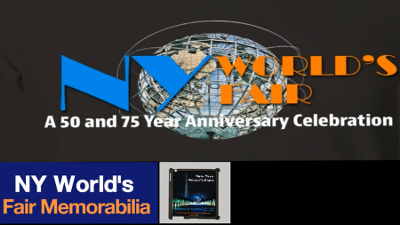 New York Worlds Fair 50 and 75 Year Anniversary Celebration poster image