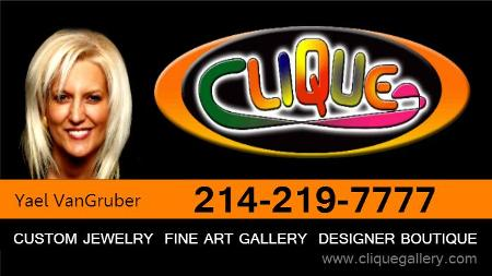 Clique Gallery Contemporary Art Designs poster image