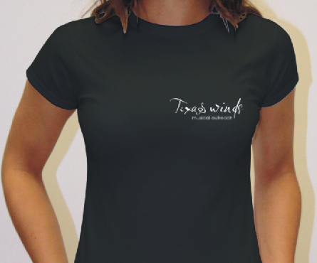 Women's Black T-Shirt product image