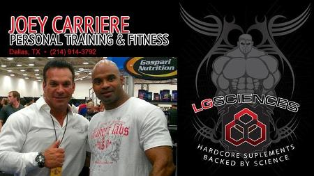 Joey Carriere Personal Training & Fitness poster image