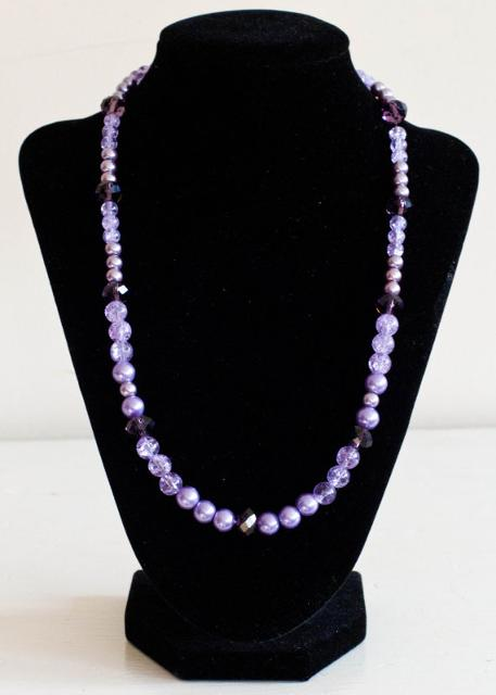 Purple Crystal Set