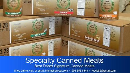 Specialty Canned Meats poster image
